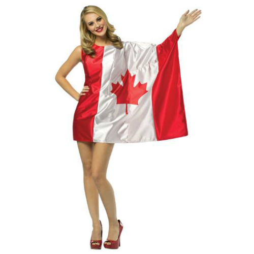 Canada Day Flag Dress - One Size