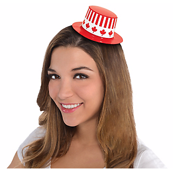 50% OFF: Canada Day Top Hat w/Elastic Band
