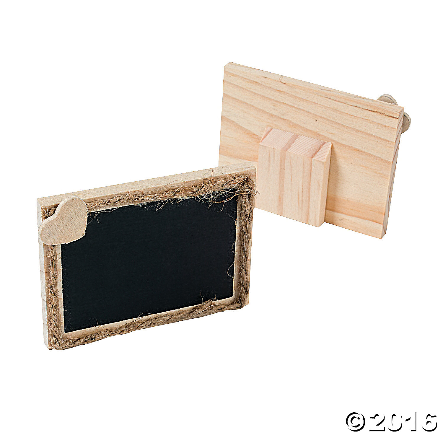 Chalkboard Place Card Holders - 12 Pk