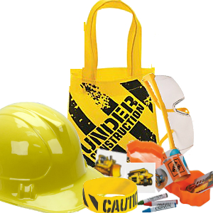 *Construction Material Tote Bag FILLED