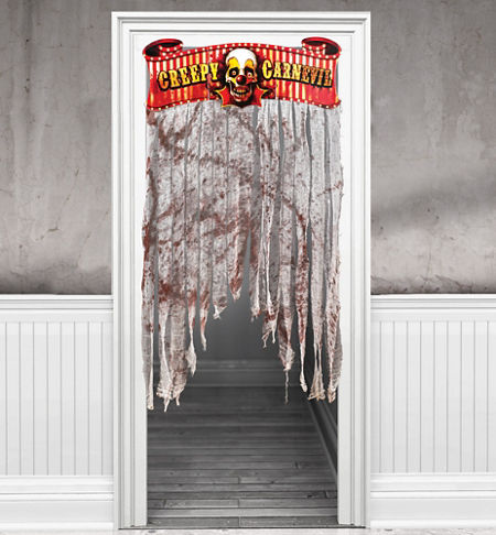 50% Off: Creepy Carnival Giant Doorway Decoration