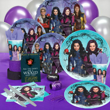 Descendants Party Pack For 16 Party Supplies Canada Open