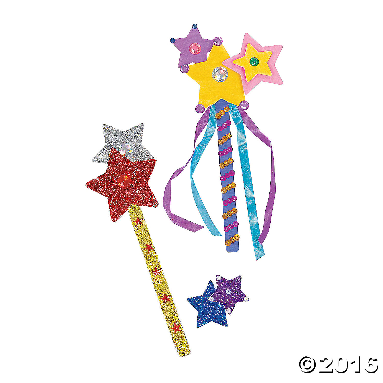 Princess wand craft kit for 24 party supplies canada for Wand making kit
