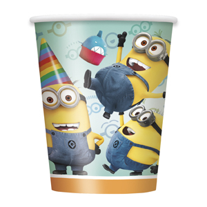 60% Off: Minions Cups 8 Pk