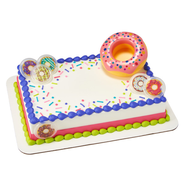 Donut Party Cake Decorating Kit