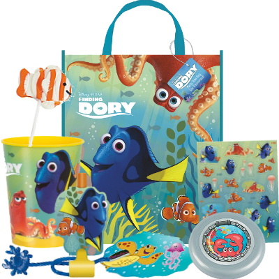 Finding Dory FILLED Large Tote Bag