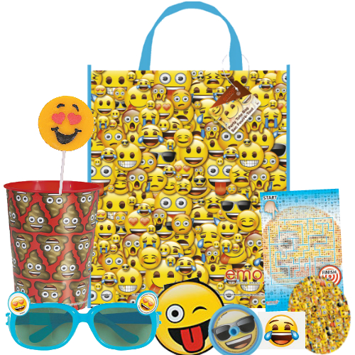 25 OFF Emoji Reusable 13 Tote Bag With 8 Favours