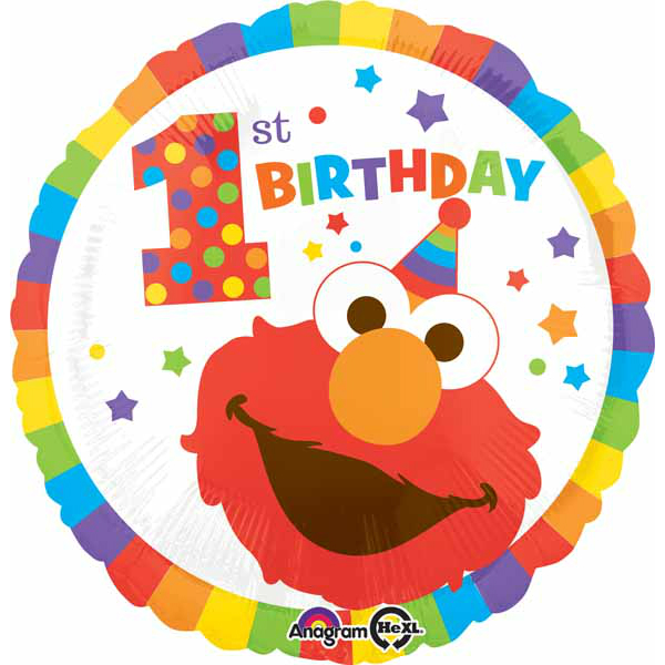 Sesame Street 1st Birthday Party Party Supplies Canada