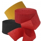 *FireFighter Large Crepe Streamers - 3 Pk