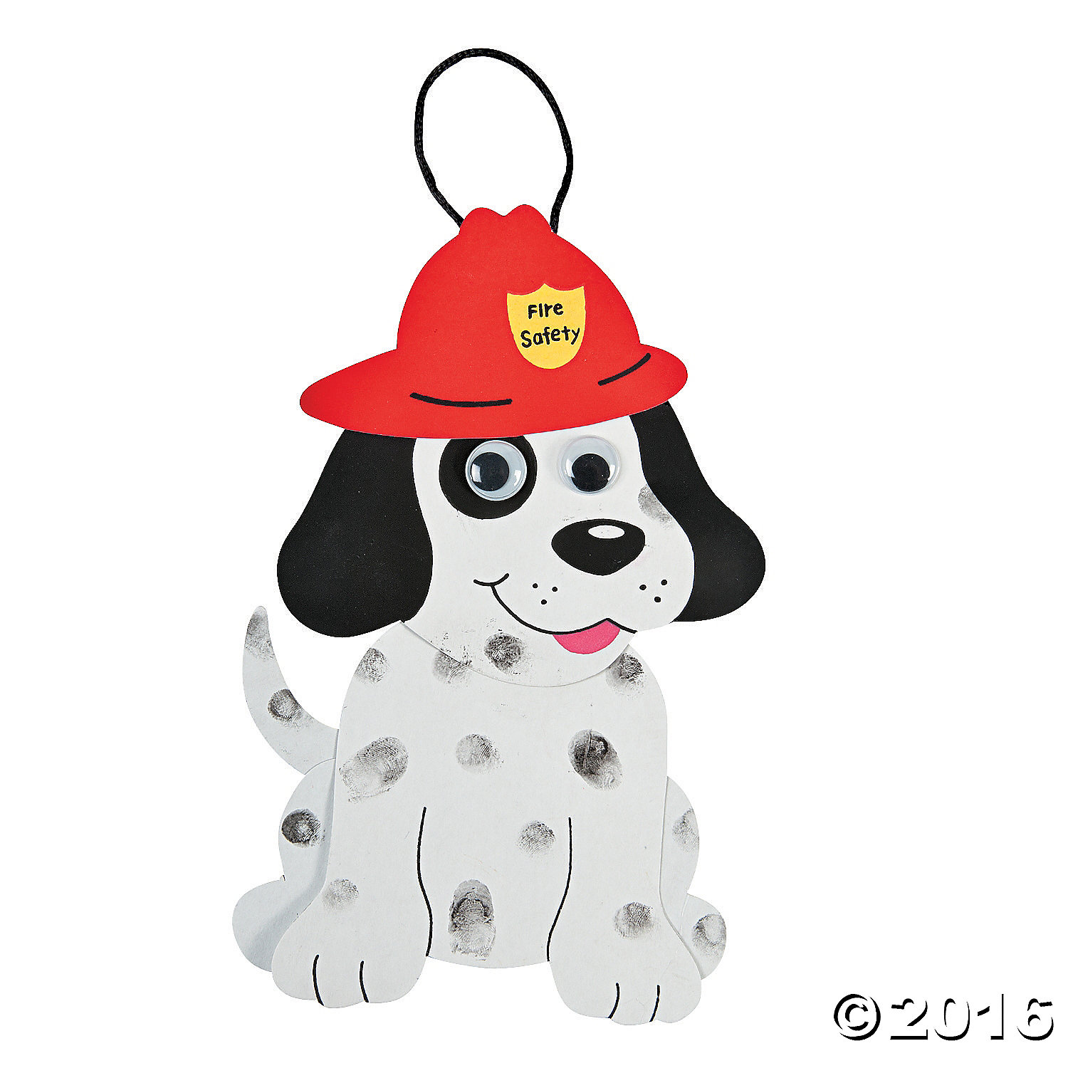 Fire Dalmation Dog Craft Kit - 24pk Party Supplies Canada - Open A Party