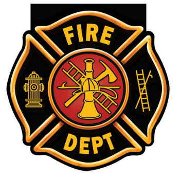 Fire Department: Badge Shaped Notepads 4 Pk