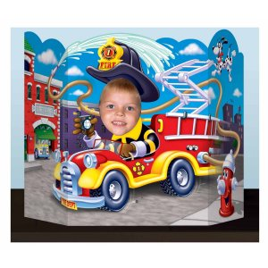 FireFighter Party Supplies: Jumbo Photo Prop