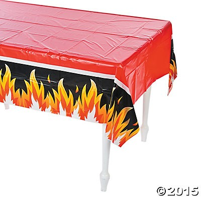 Fire Hero Tablecloth