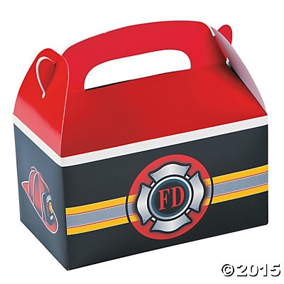 Fire Department Loot Boxes - 4 Pk