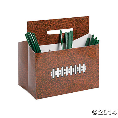Party Utensil Caddy Football Utensil Caddy