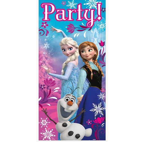 Disney Frozen: Party Front Door Sign