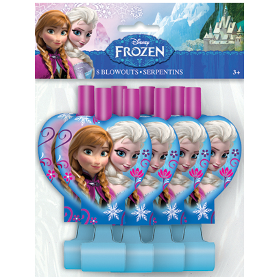 Disney Frozen: Deluxe Blowouts 8pk