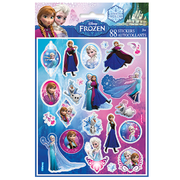 65% OFF: Frozen Stickers - 4 Sheets