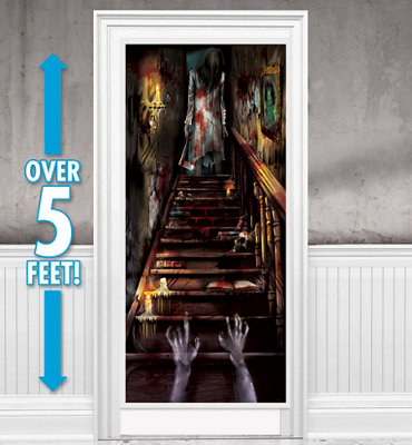 50% Off: Haunted Mansion Giant Door Sign