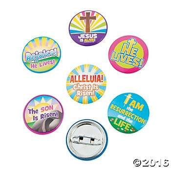 60% OFF: Religious Easter Metal Buttons - 48 Pk