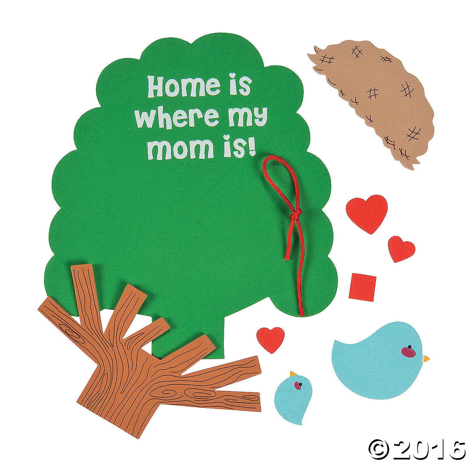 Home is where my mom is sign craft kit 12 pk party for Mother s day craft kits