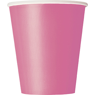 Hot Pink Cups Big 14 Pack