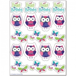 Owl Pals Sticker Sheets - 4 Sheets