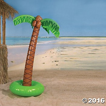 Inflatable 5 Ft. Palm Tree