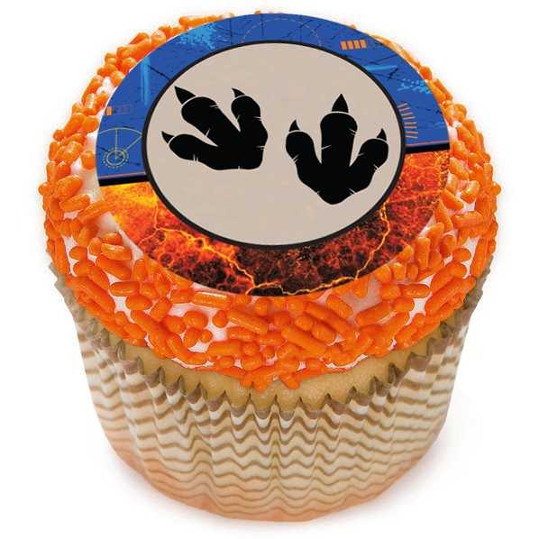 Jurassic World 2 Cupcake Icing Toppers 12pk