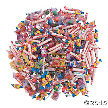 Kids Candy Assortment - 208 Pack