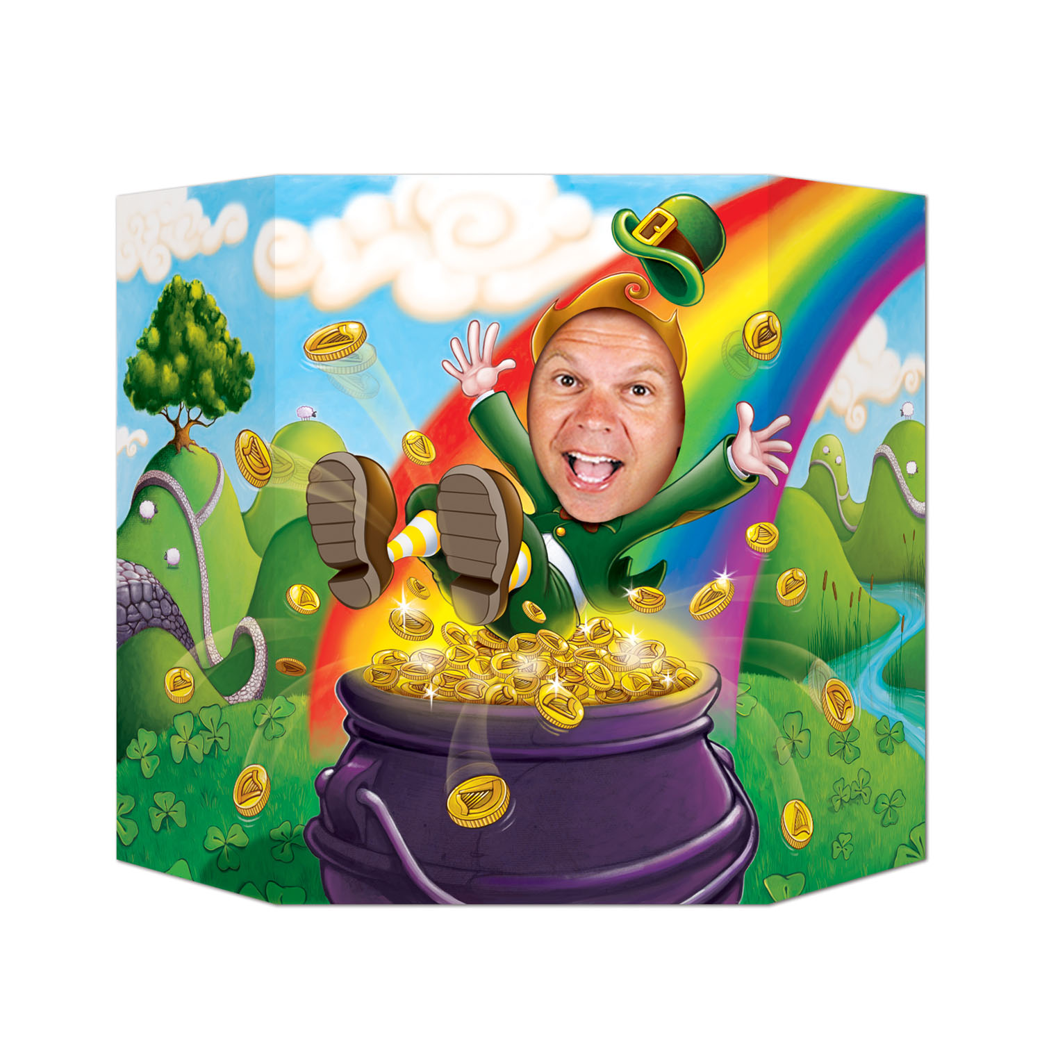 St. Patrick's Day Leprechaun Photo Prop
