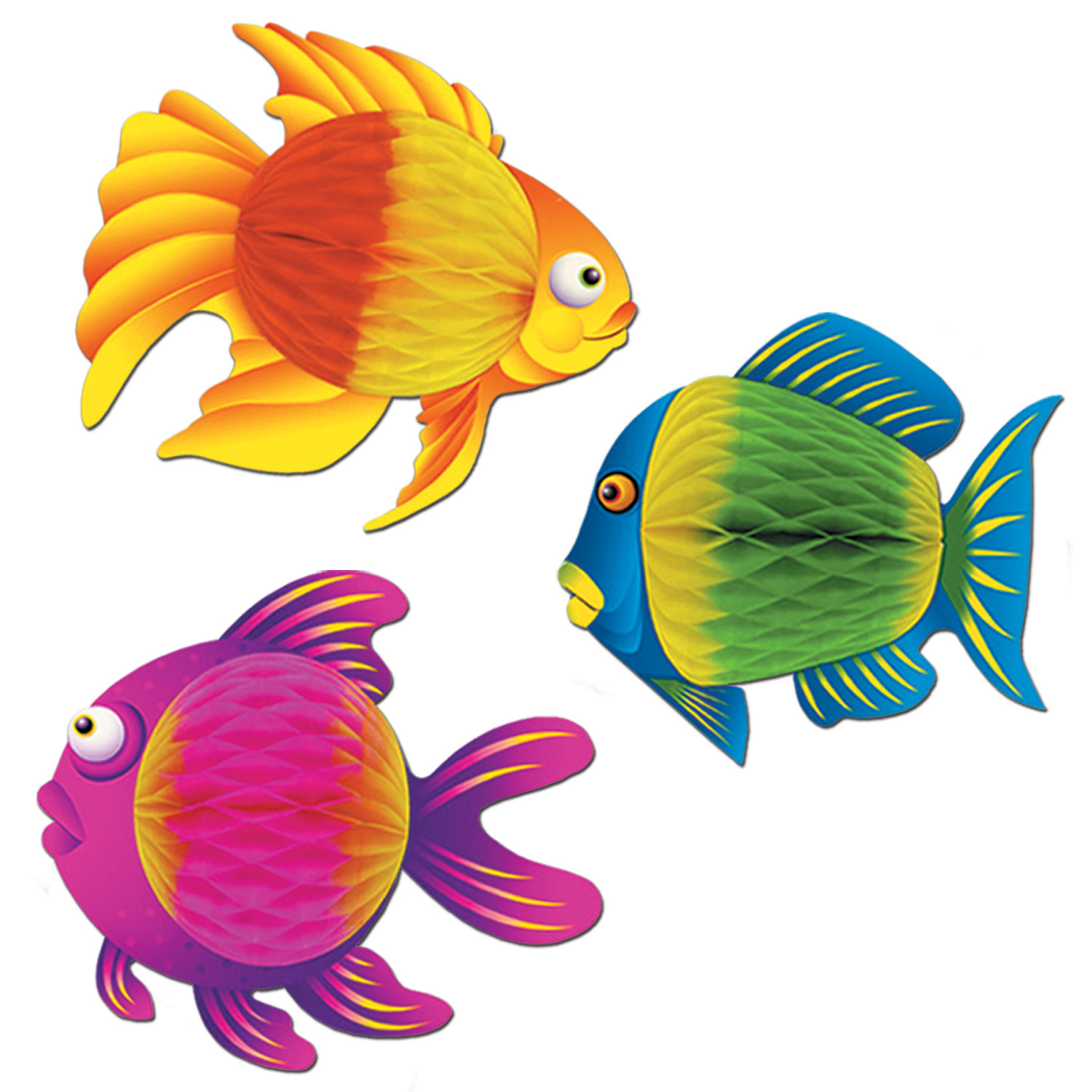 Colour-Bright Tropical Fish