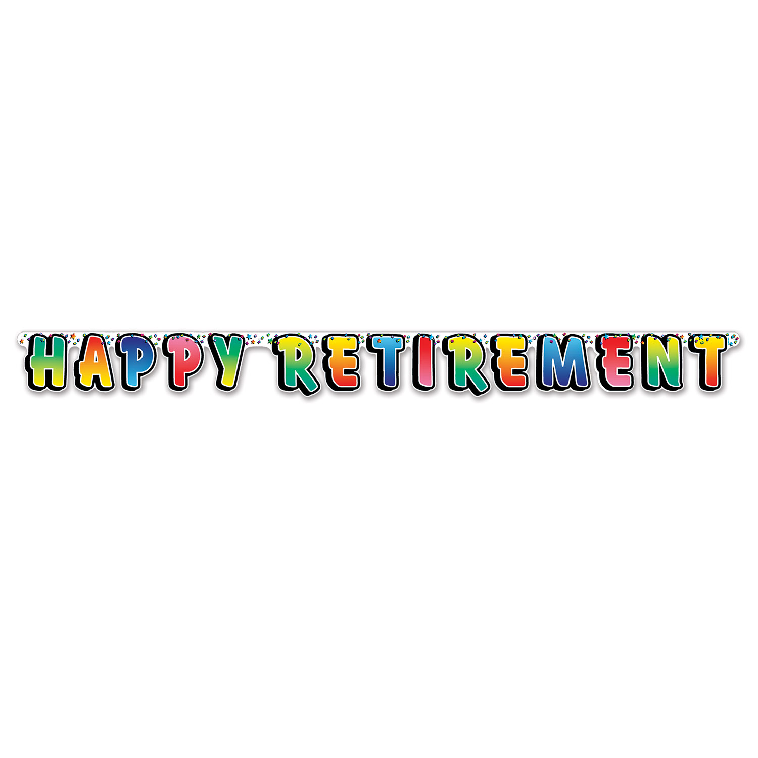 Retirement Party Supplies: Happy Retirement Streamer