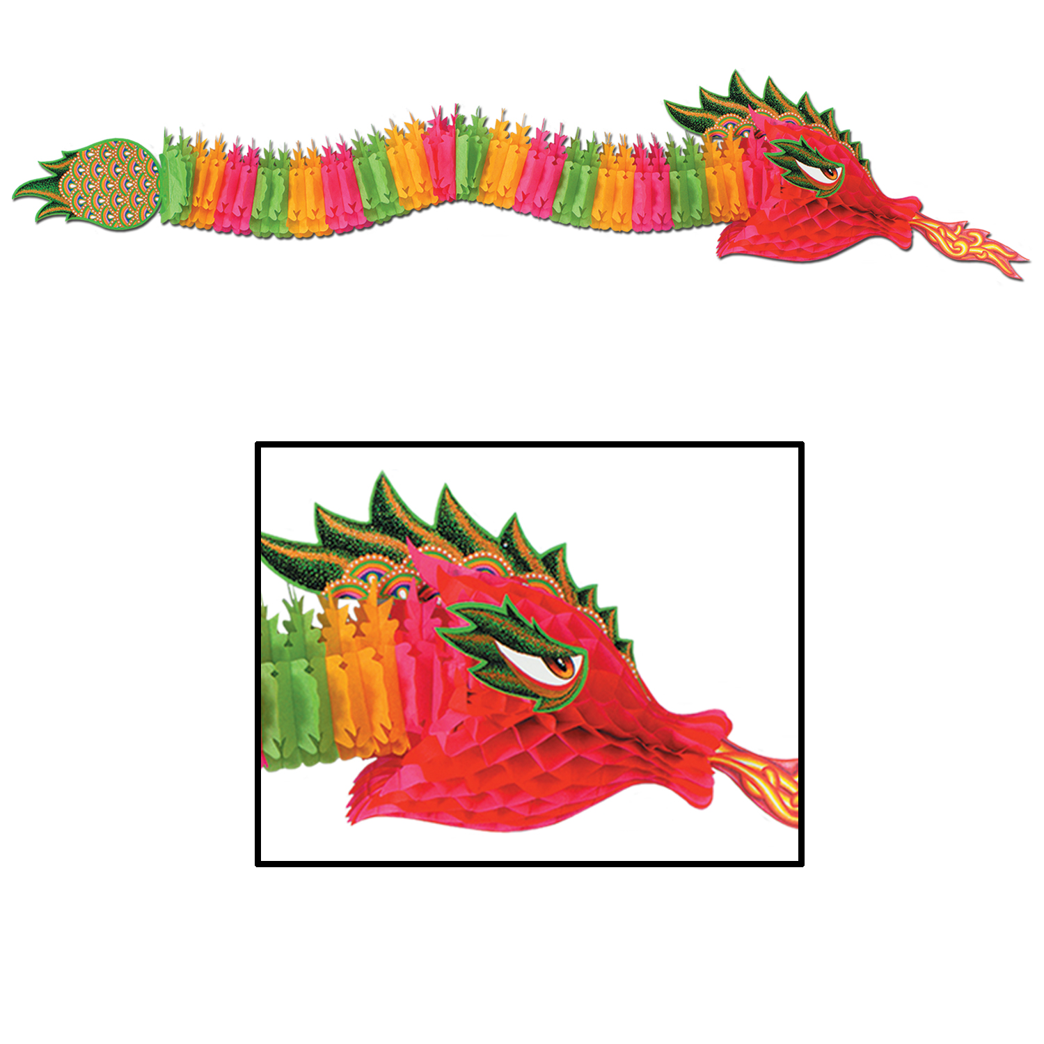 Chinese New Year: Tissue Dragon