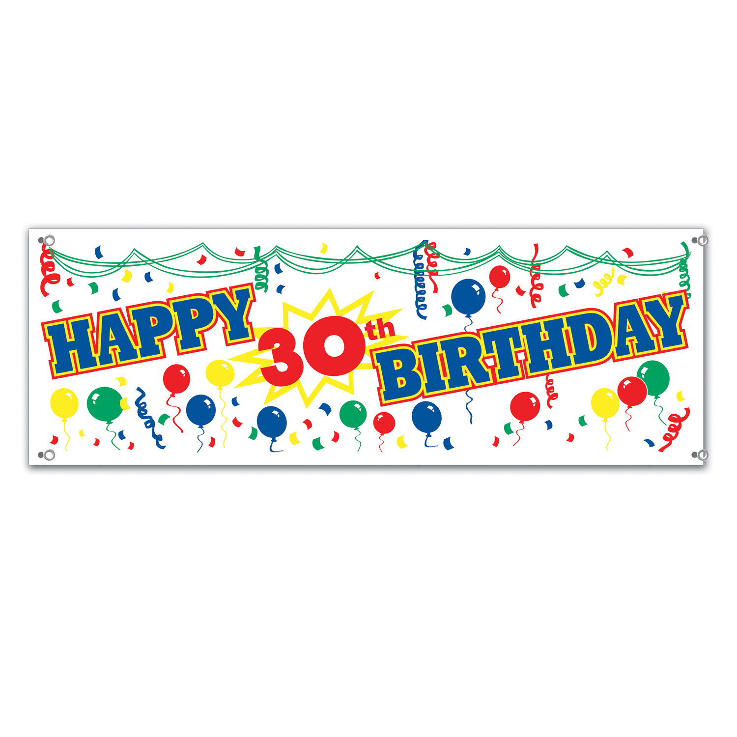 happy 30th birthday banner party supplies canada open a party