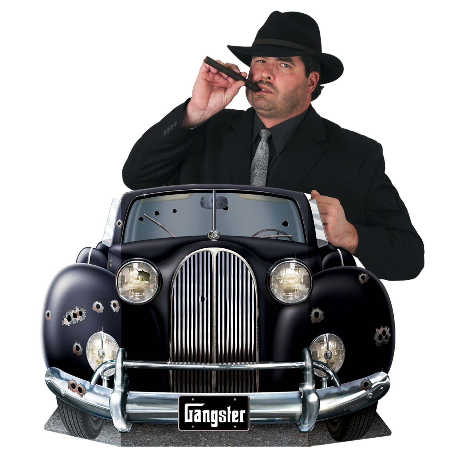 Gangster 3ft Photo Prop