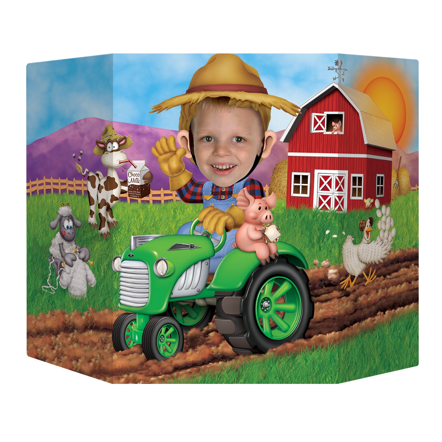 "Farm Jumbo 37"" Photo Prop"