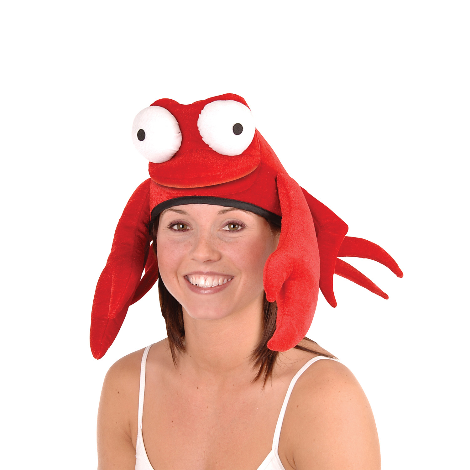 Plush Crab Hat