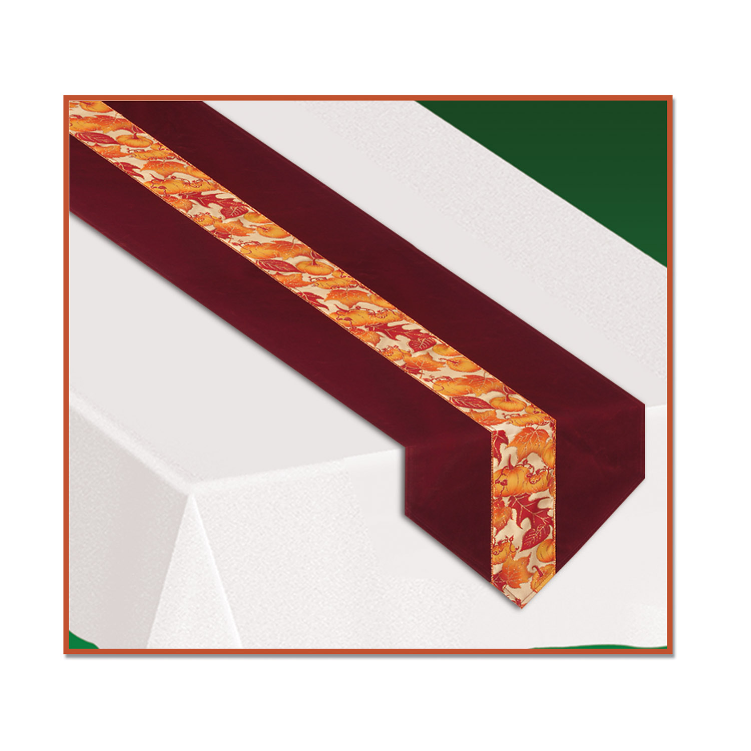 Autumn Leaves Fabric Table Runner