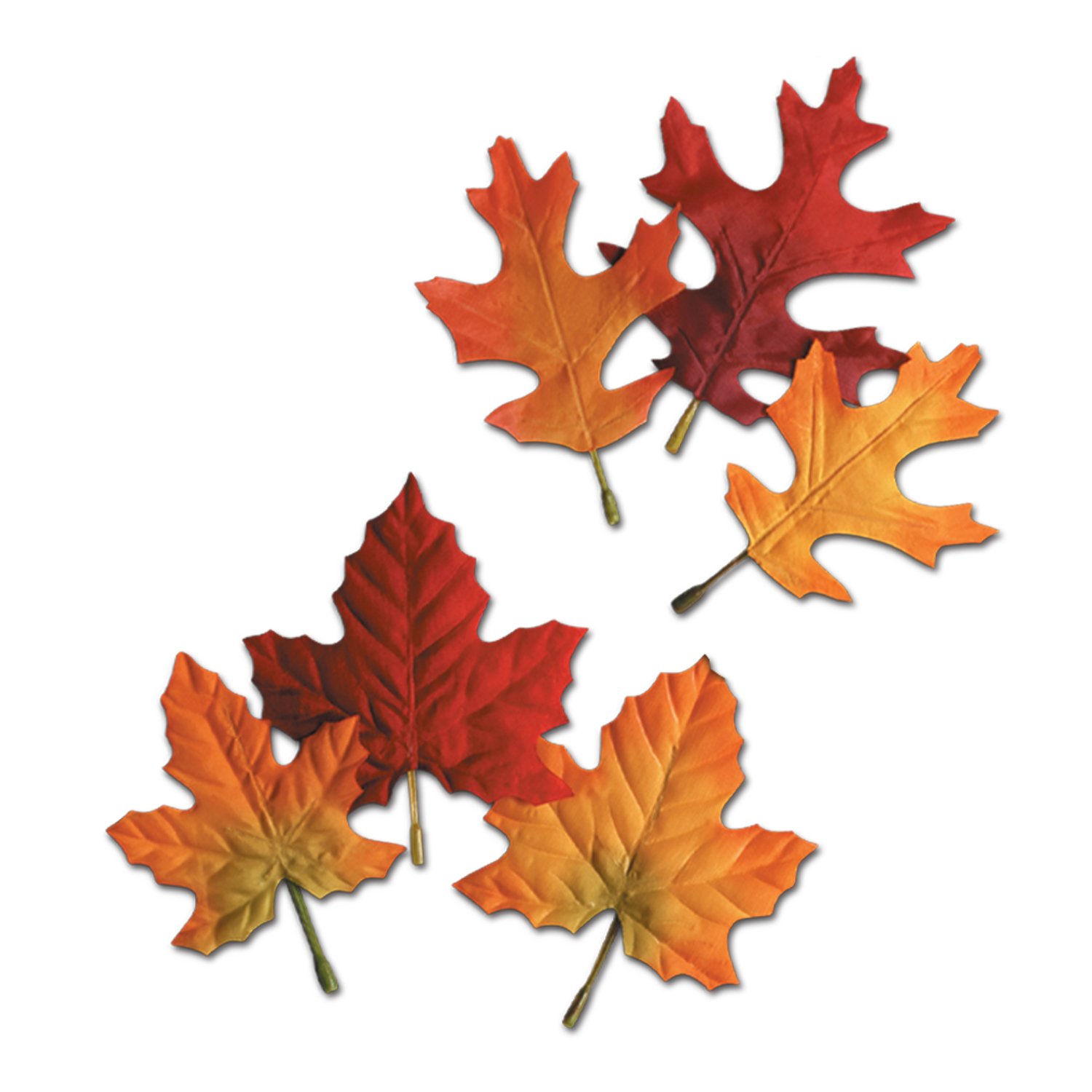 Assorted Autumn Leaves 12 Pk