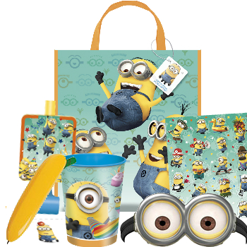 Minions Big Tote Bag Filled
