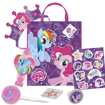 *My Little Pony Deluxe Tote Filled