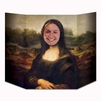 Photo Prop 3 Ft. Mona Lisa