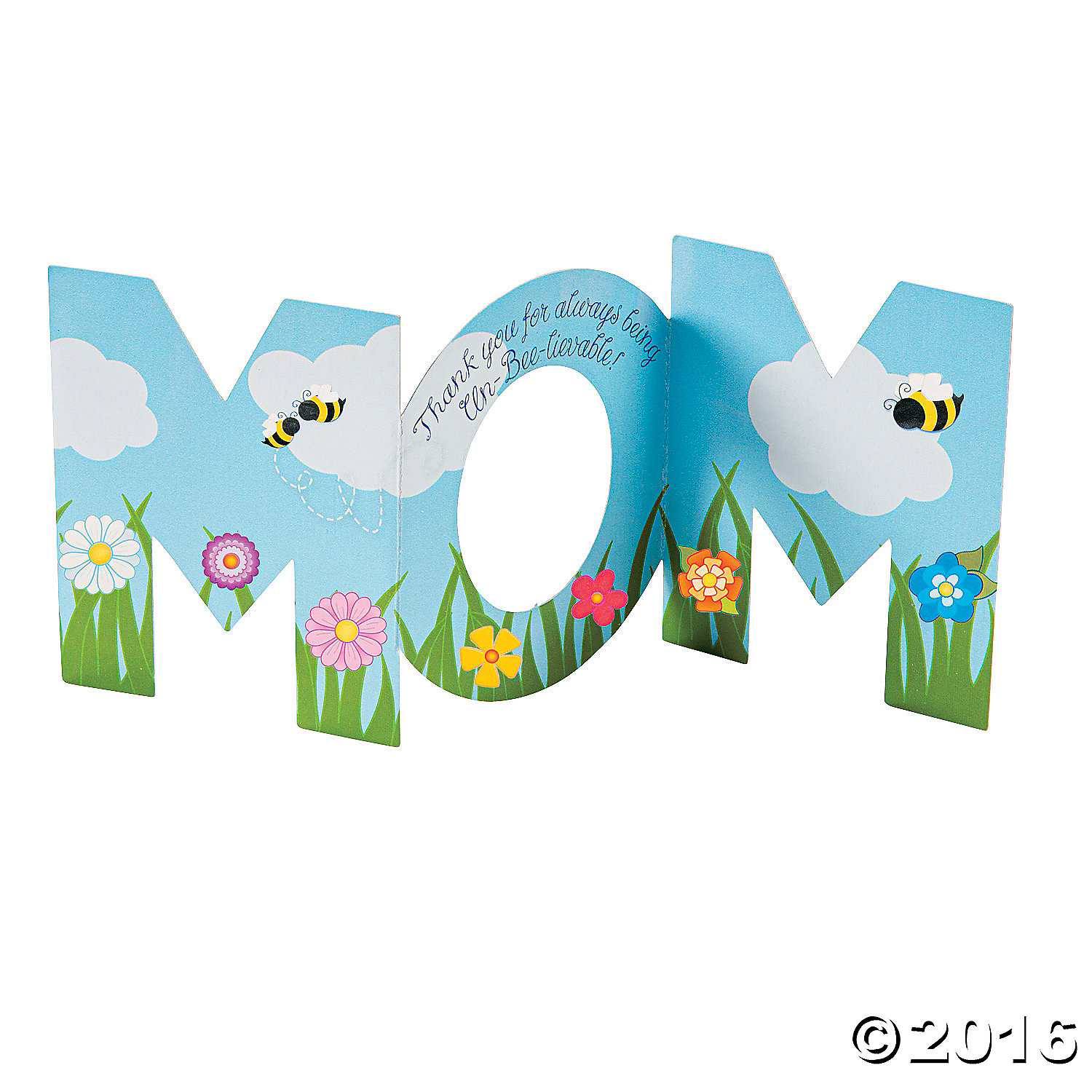 Mothers Day Sticker Cards - 12 Pk