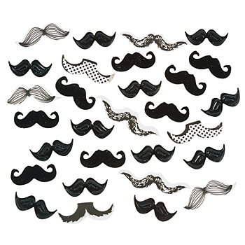 Moustache Table Confetti - Bag