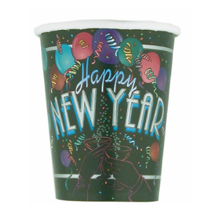 85% Off: New Years Cheer Cups - 8 Pk
