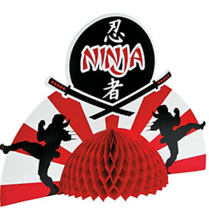Ninja Warriors Jumbo Centerpiece