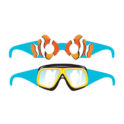 Ocean Party- Party Glasses 6 Pack