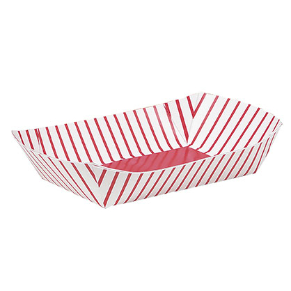 Paper Snack Trays 4 Pk