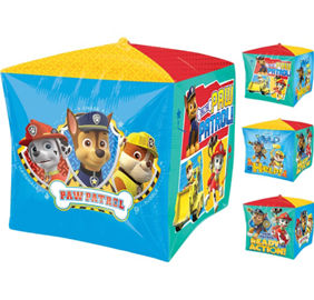 Paw Patrol 4 Sided Square Balloon